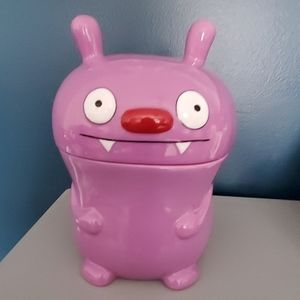Ugly Dolls Big Toe Ceramic purple Cookie Jar